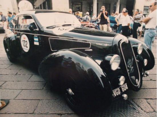 Продажа личной машины Муссолини 1937 Alfa Romeo 2300 MM