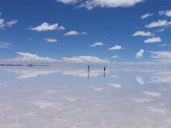 Самое большое в мире зеркало!