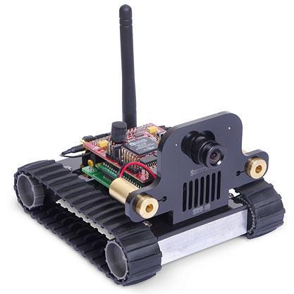 Робот-шпион с Wi-Fi и камерой