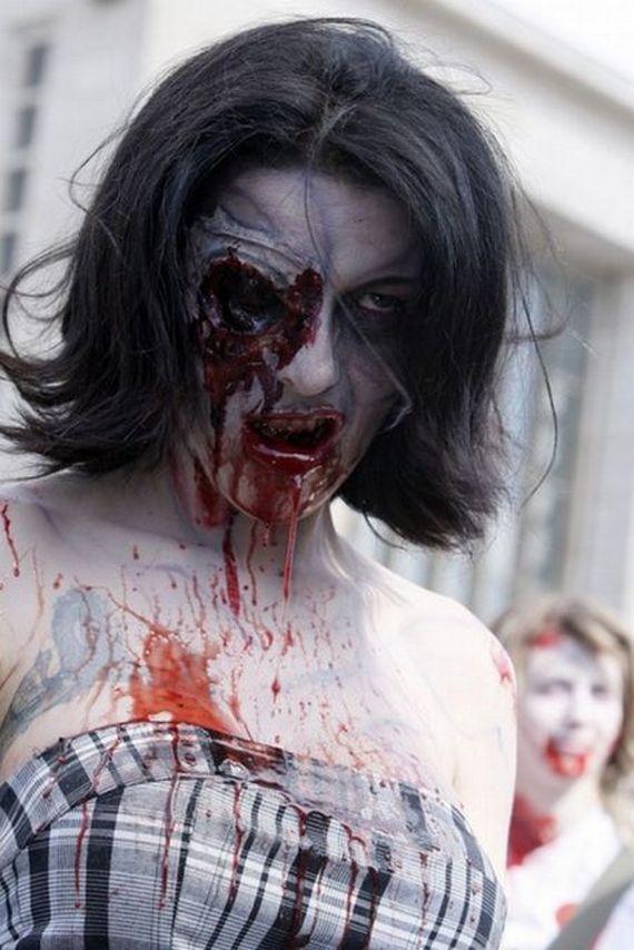 Канны . Парад зомби .