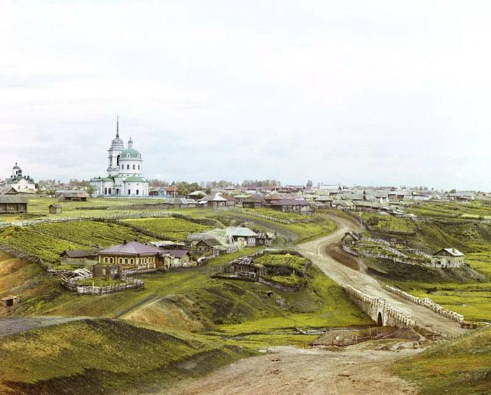 Фотографии 1909-1912 годов в цвете !