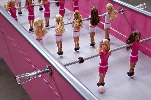 Барби футбол