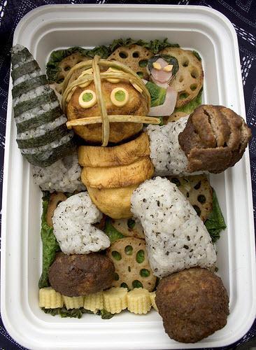 """Японский стиль еды """"character bento"""""""