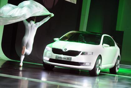 "Škoda ""VisionD"" на автосалоне в Женеве"