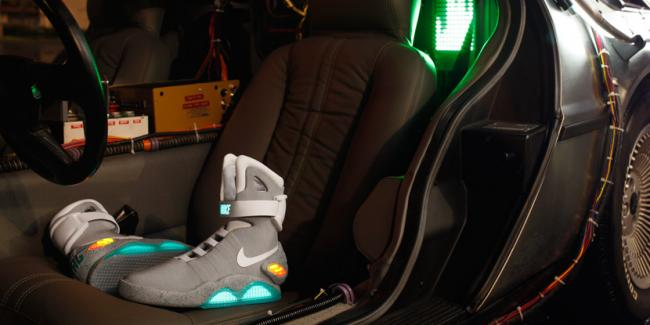 "Кроссовки Nike Mag из фильма ""Back to the Future"""